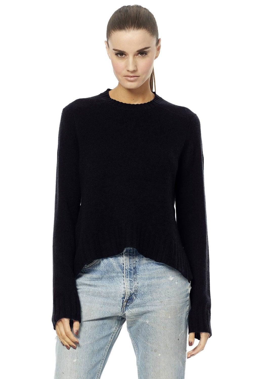 df07d8e9e11 Black London Cashmere Sweater