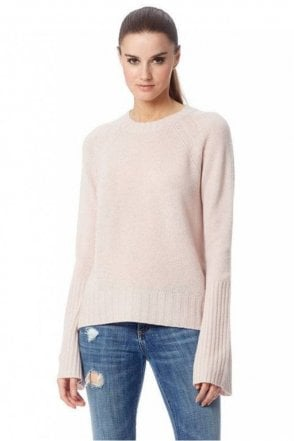Maikee Cashmere Sweater in Buff