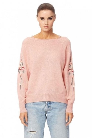 Nova Cashmere Sweater in Sunkissed