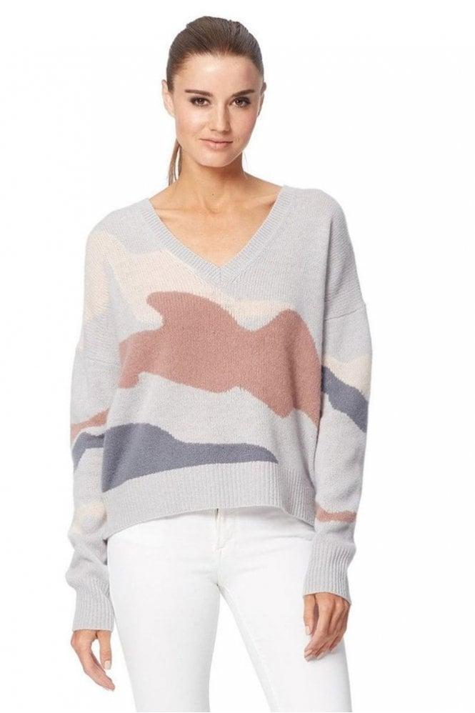 360 Cashmere Zuleika Sweater in Comet/Belini