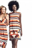 Ana Alcazar A-Shaped Graphic Dress in Feo