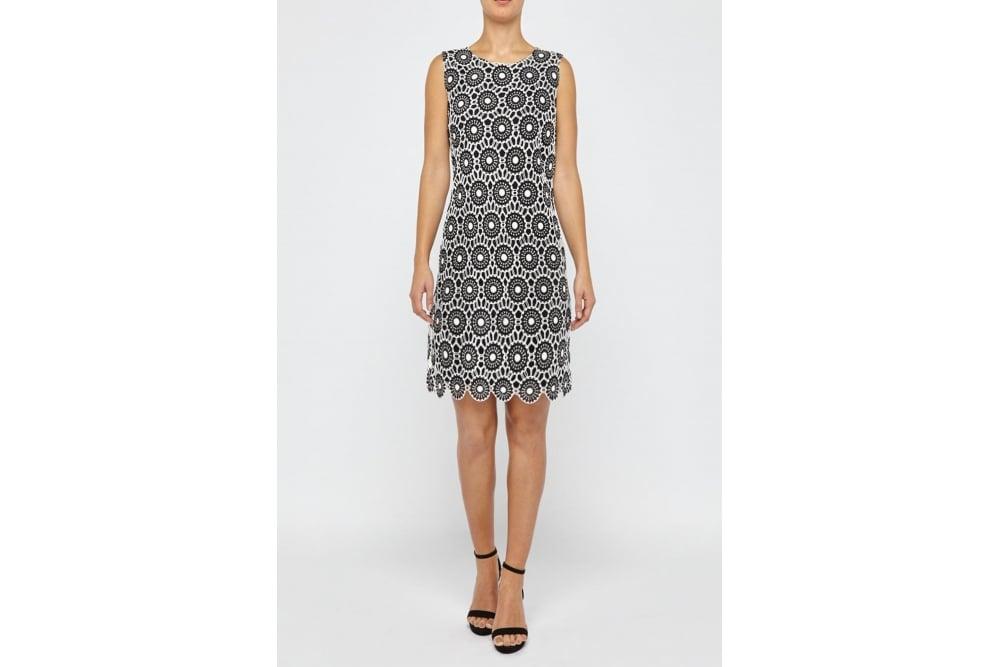 A Shaped Lace Dress Fleurora