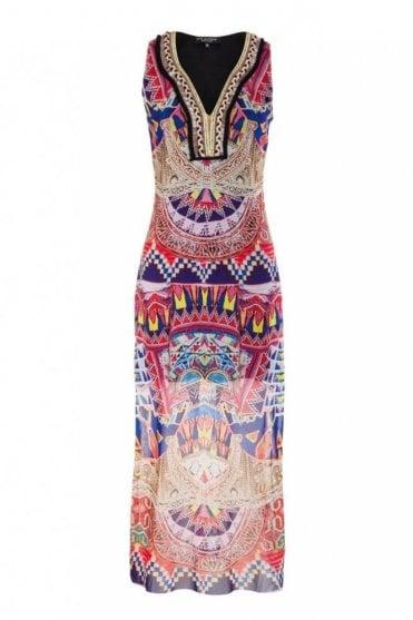 Maxi Dress in Melibena