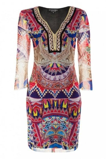Tunic Dress in Mellybena