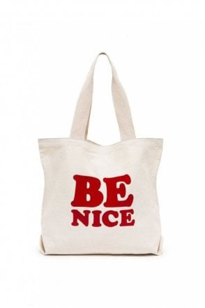 Big Canvas Tote – Be Nice
