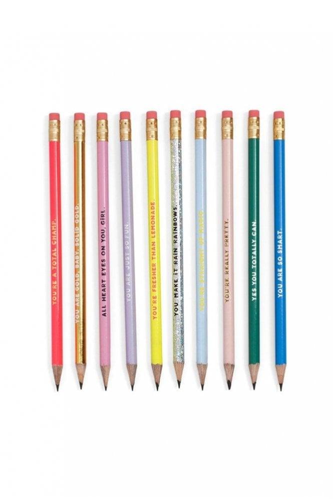 Ban.do Compliment Pencil Set – Assorted Set Of Ten