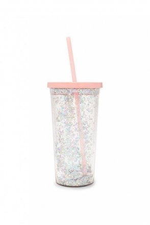 Deluxe Sip Sip Tumbler with Straw – Glitter Bomb