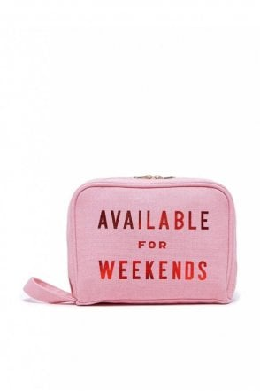 Getaway Toiletries Bag – Available For Weekends