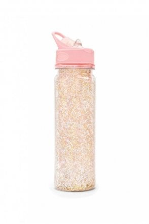 Glitter Bomb Water Bottle – Pink Stardust