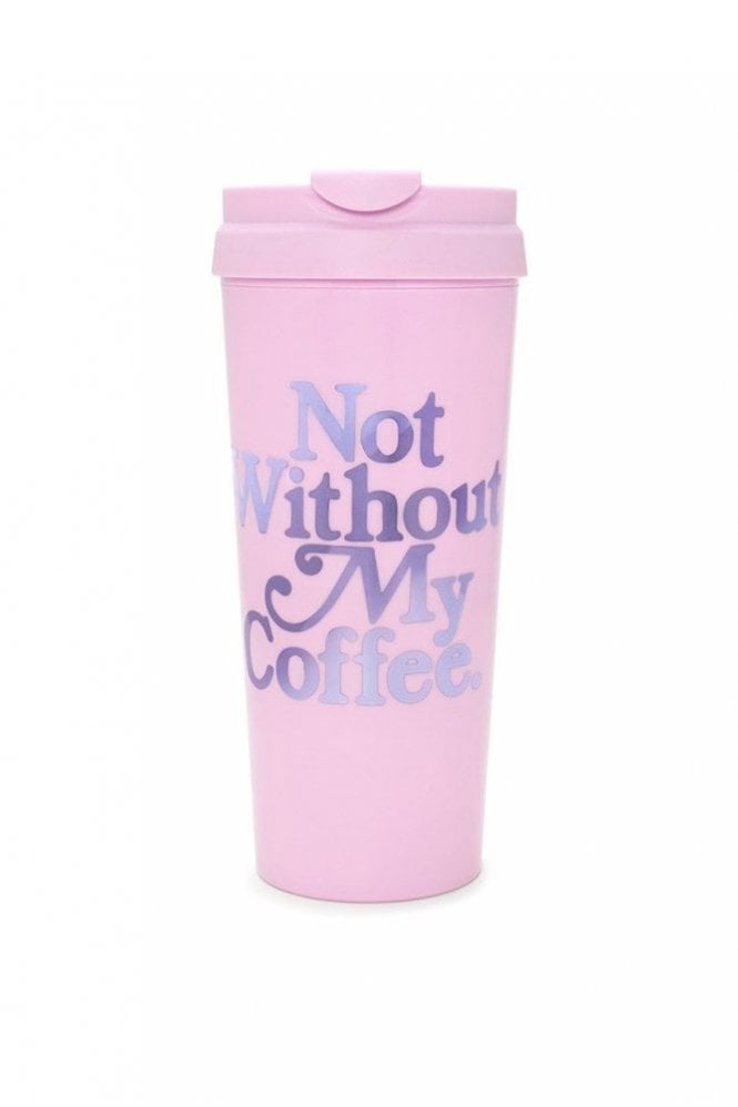 Ban.do Hot Stuff Thermal Mug – Not Without My Coffee