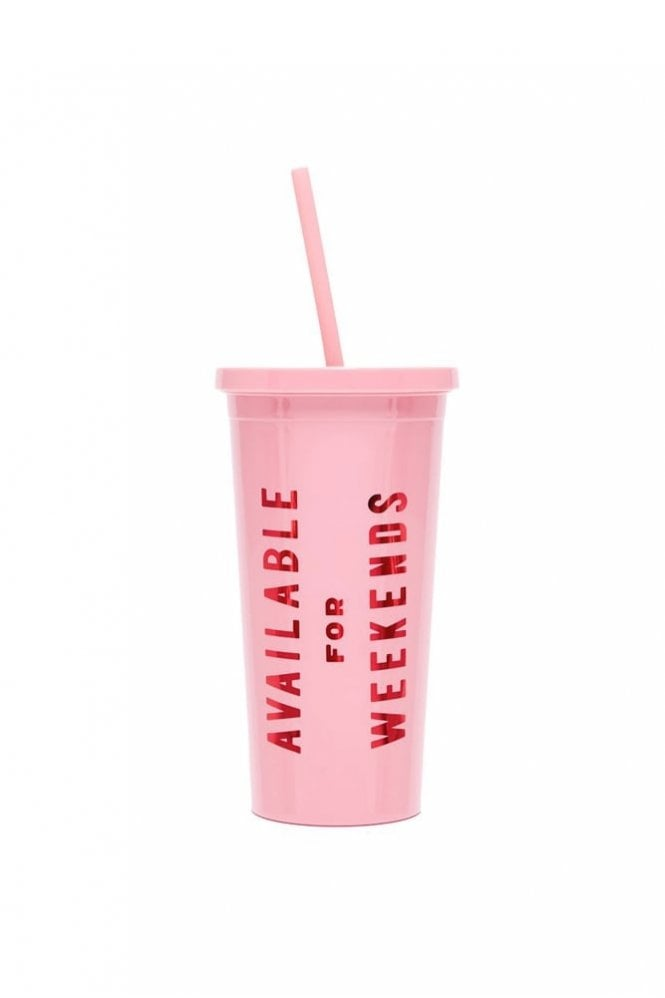 Ban.do Sip Sip Tumbler with Straw – Available For Weekends