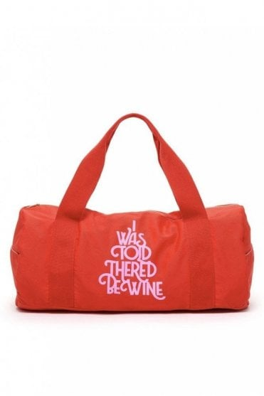 Work It Out Gym Bag – Wine