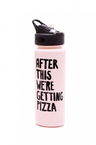 Work It Out Water Bottle – After This We're Getting Pizza
