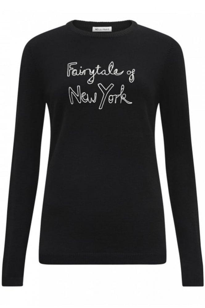 Bella Freud Fairytale Of New York Jumper in Black