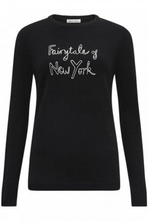 Fairytale Of New York Jumper in Black