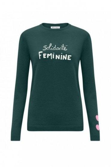 Solidarite Feminine Jumper in Bentley Green