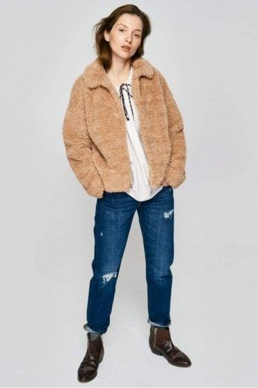 Lonu Faux Fur Jacket