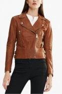 Belstaff Marving-T Biker Jacket in Umber