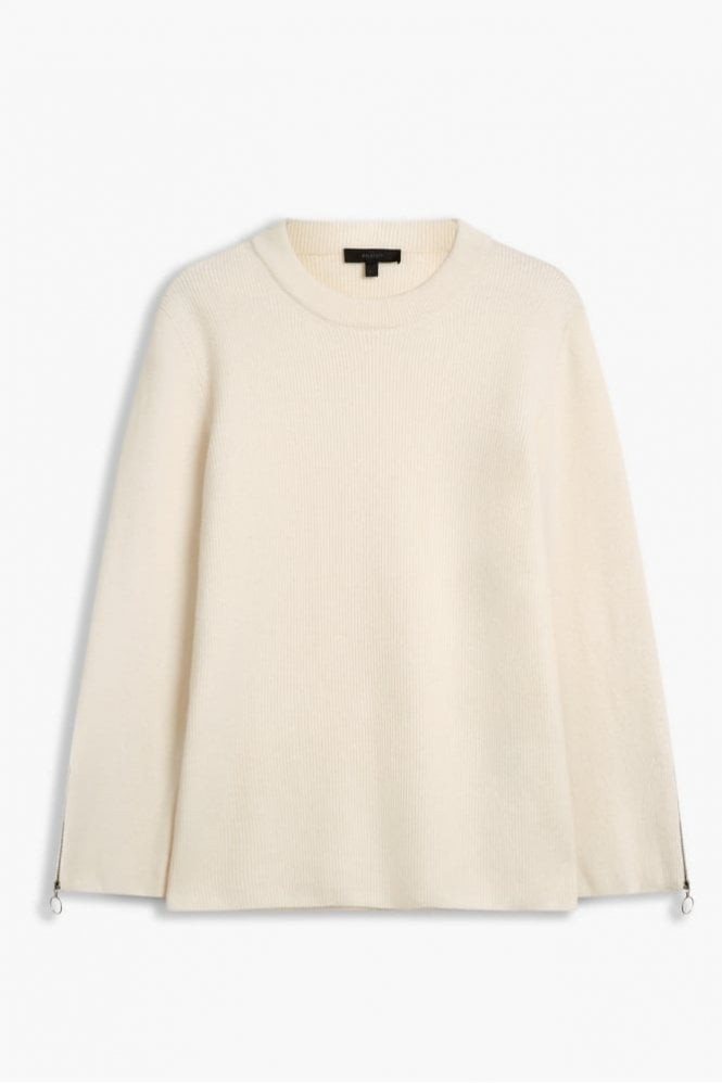 Belstaff Shayla Wool Cashmere Knit in Natural