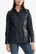 Belstaff Tourmaster 3.0 Jacket in Dark Teal Signature 6oz Waxed Cotton