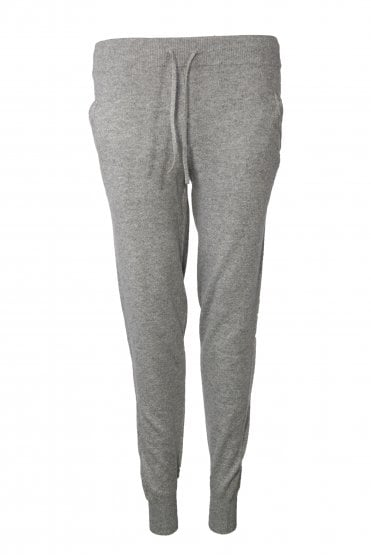 Emma Joggers in Grey Lurex