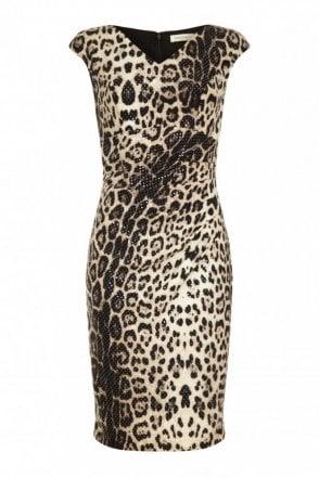 Ivett Animal Print Dress