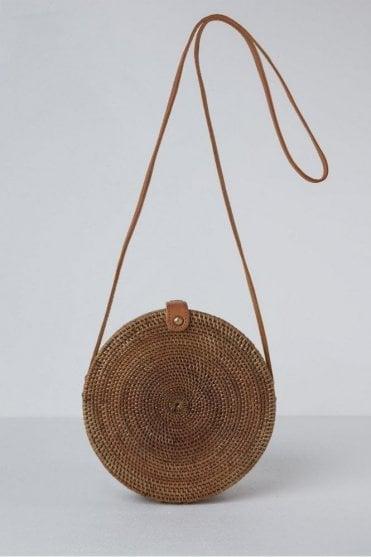 The Palermo Round Basket Bag