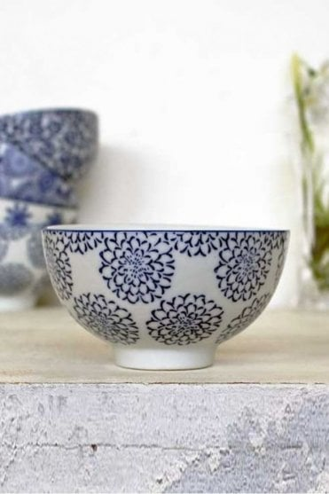 Blue Ceramic Sauce Bowl