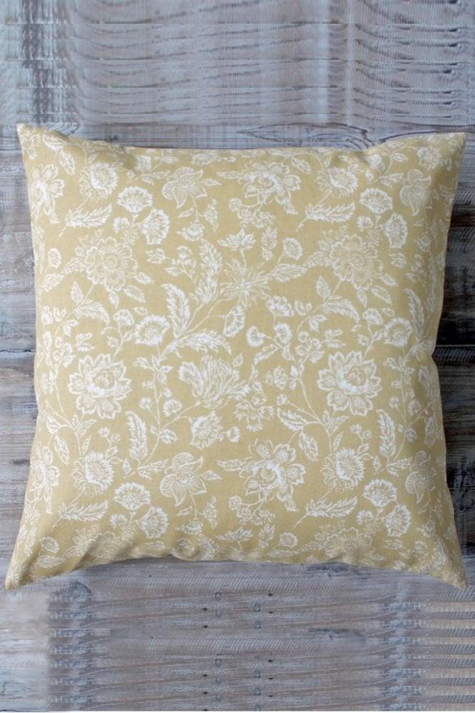 Biggie Best Harvest Gold Flower Cushion