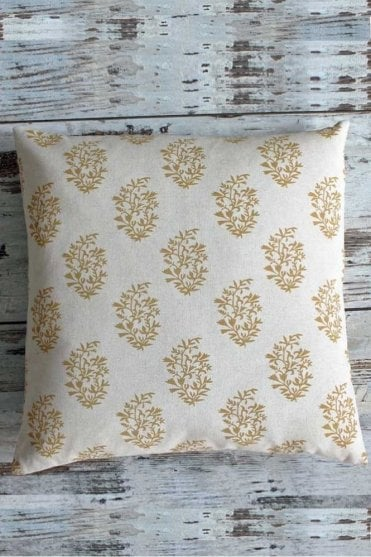 Kerala Light Gold Cushion