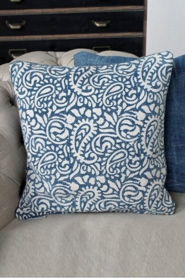 Persian Block Print Cushion