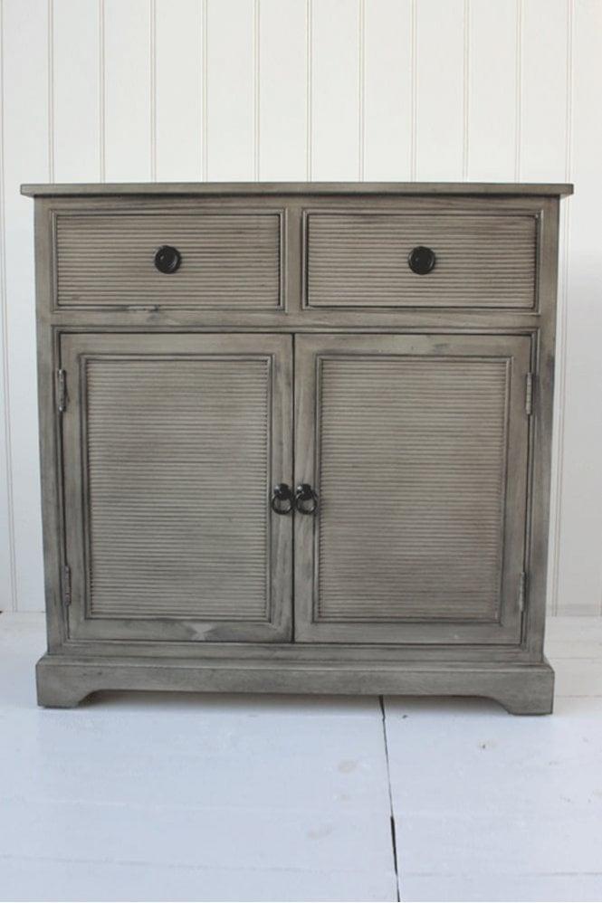 Biggie Best Stone Grey 2 Draw Cabinet
