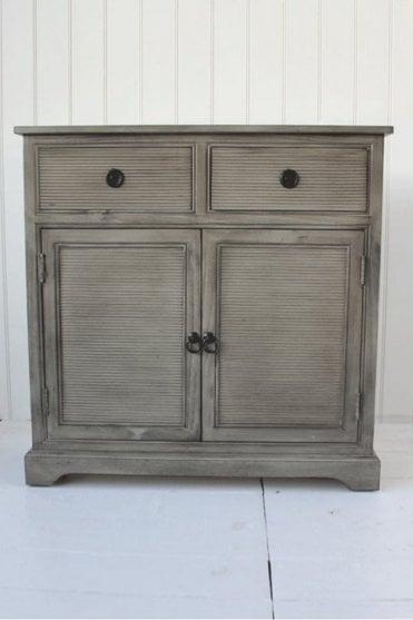 Stone Grey 2 Draw Cabinet