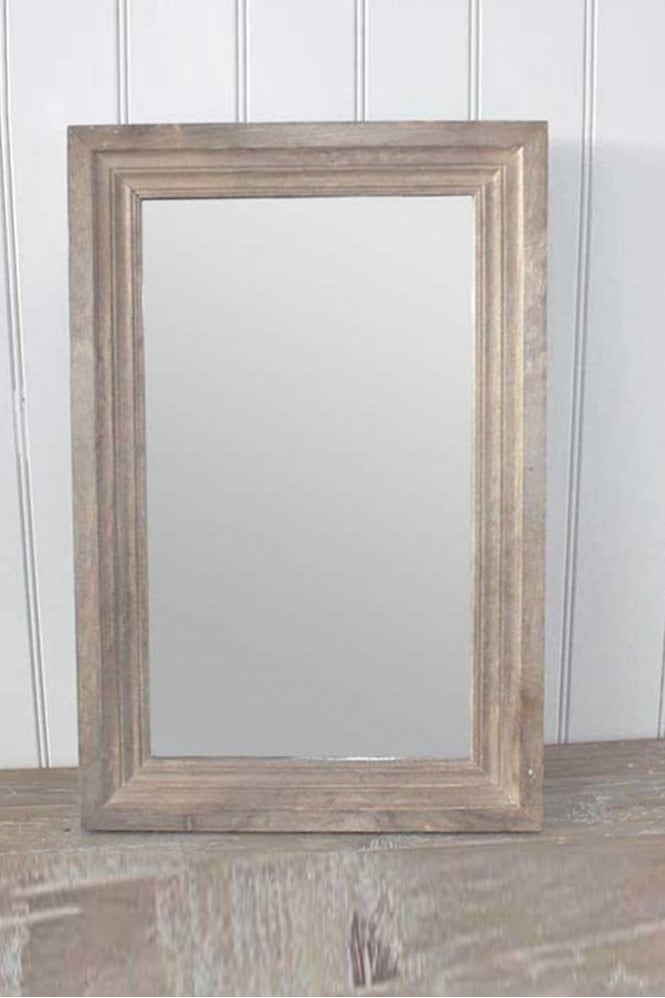 Biggie Best Wooden Antique Wood Mirror