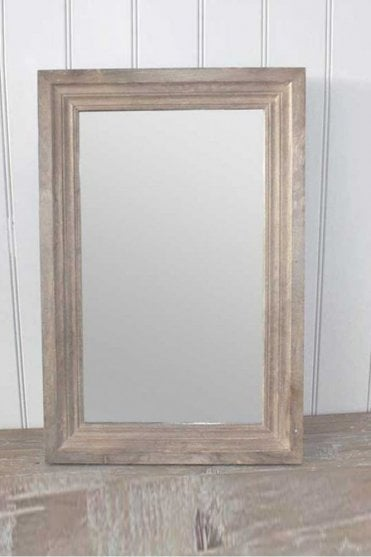 Wooden Antique Wood Mirror