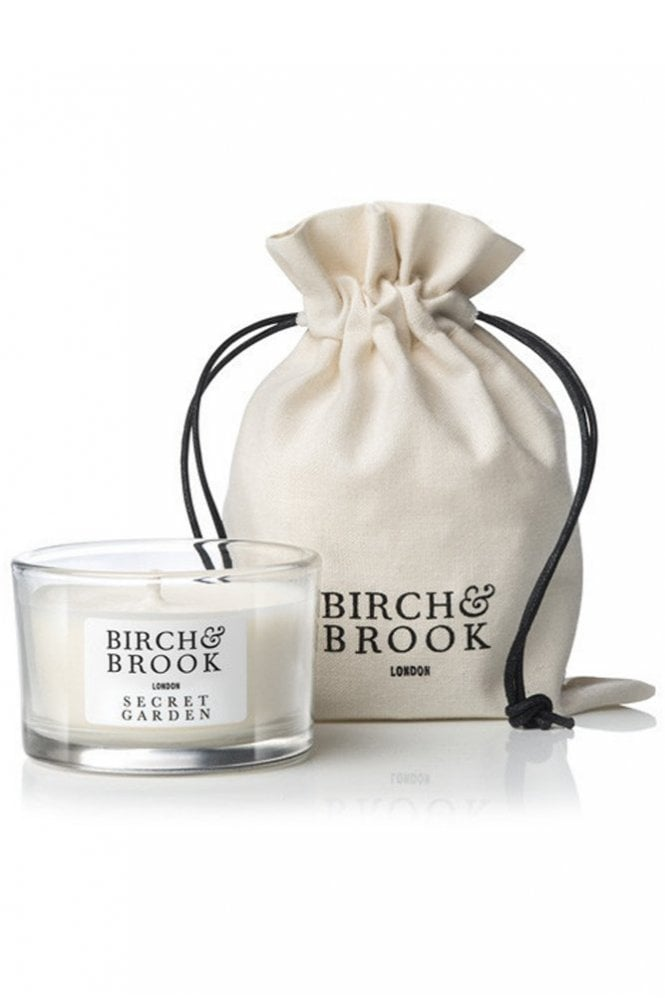 Birch & Brook Secret Garden Scented Travel Candle