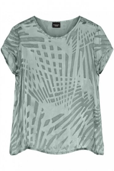 Egyptian Fan Burn Out Top in Mineral
