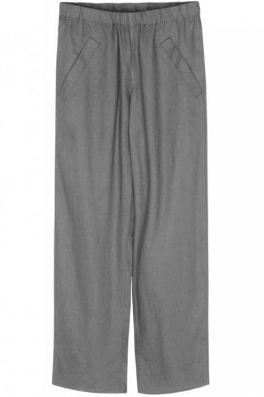 Nefertiti Linen Pants in Ash
