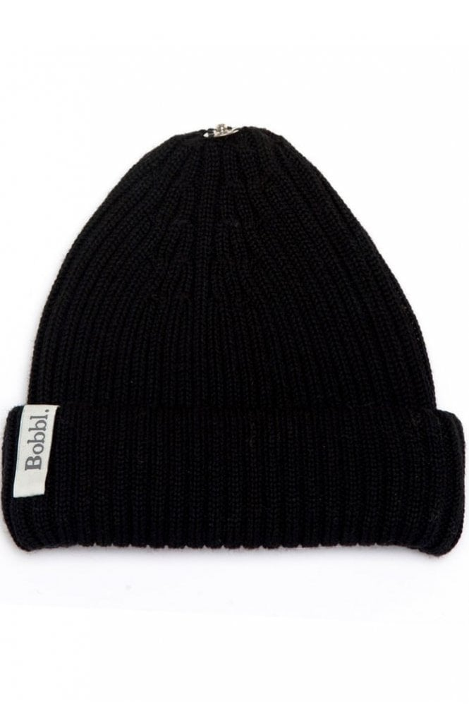 Bobbl. Classic Hat in Black