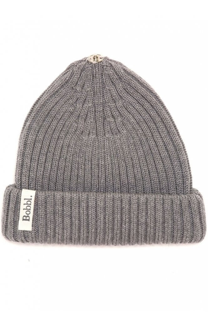 Bobbl. Classic Hat in Grey