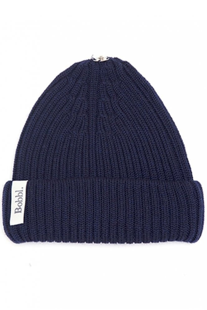 Bobbl. Classic Hat in Navy