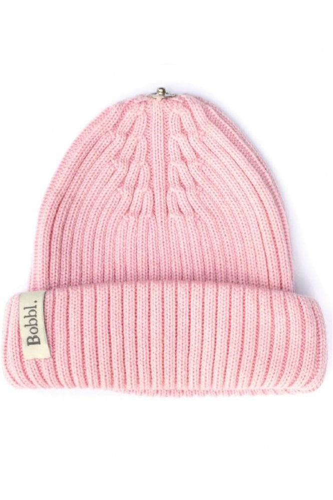 Bobbl. Classic Hat in Pale Pink