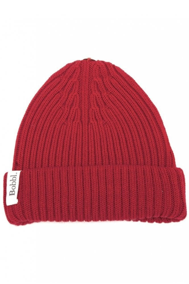 Bobbl. Classic Hat in Red