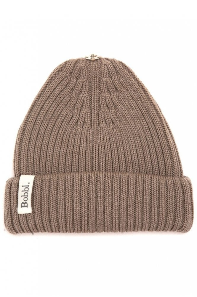 Bobbl. Classic Hat in Taupe