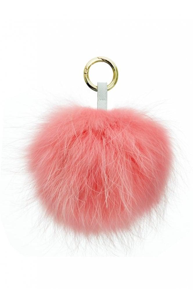 Bobbl. Keyring in Baby Pink