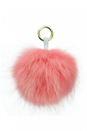 Keyring in Baby Pink