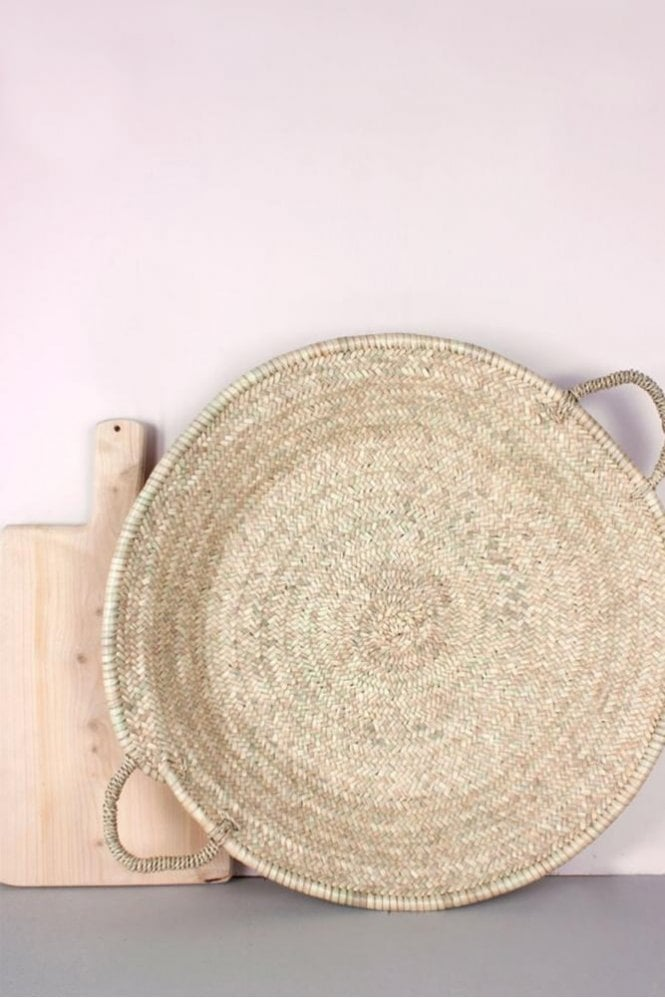 Bohemia Moroccan Oversized Woven Plate