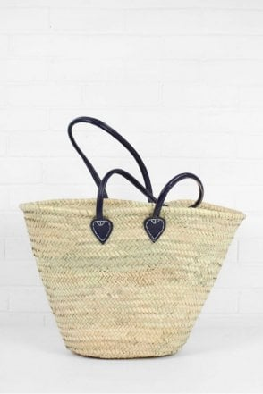 Souk Shopper Basket in Indigo