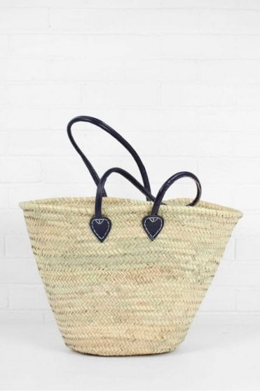 Souk Shopper Basket in Indigo