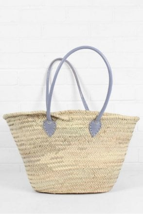 Souk Shopper Basket in Lilac